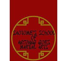 Anything Goes Martial Arts Alternative Photographic Print