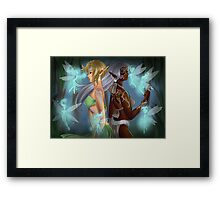 Fairy Forest Framed Print