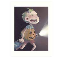 PumpkinJohn Art Print