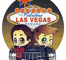 Winchesters in Vegas by bonejangless