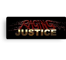 Raging Justice Logo Canvas Print