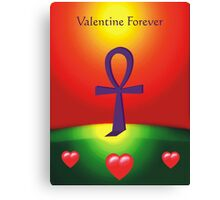 Valentine Forever Canvas Print