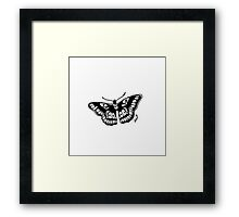 Butterfly Tattoo Framed Print