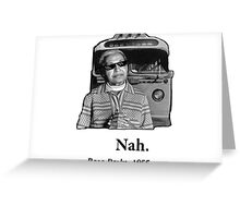 Rosa Parks Deal With It nah Greeting Card
