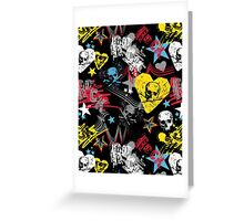 skull rock Greeting Card