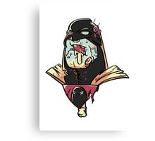 Zombie Space Ghost Canvas Print