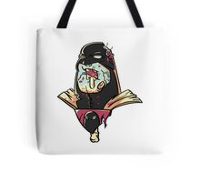 Zombie Space Ghost Tote Bag