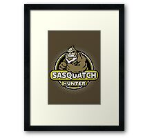 Sasquatch Hunter Framed Print