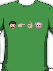 Emoji: Man Vs Pig T-Shirt