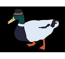 Fedora Duck Photographic Print