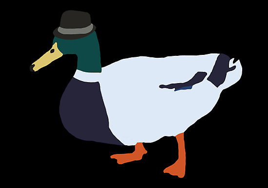 Fedora Duck by Jobboman