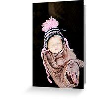 Precious Beauty Baby Greeting Card