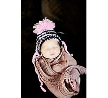 Precious Beauty Baby Photographic Print