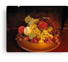Fruits & Fruits Canvas Print