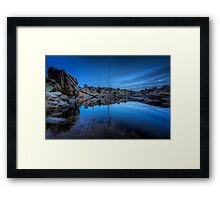 Dells At Dusk Framed Print