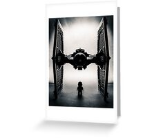 Twin Ion Engine Greeting Card