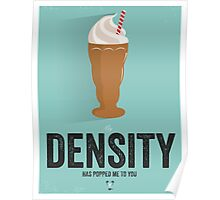 Cinema Obscura Series - Back to the future - Density Poster