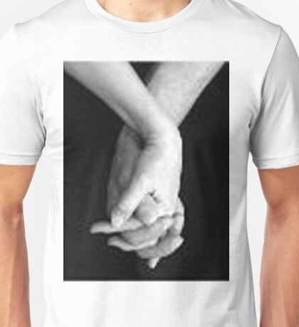 holding my hands Unisex T-Shirt