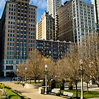 South Michigan Avenue Skyline by James Watkins