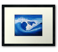 Wave 11 Framed Print