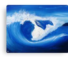 Wave 11 Canvas Print