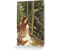 taeyeon - snsd holler No.1 Greeting Card