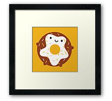 Kawaii Donut Framed Print