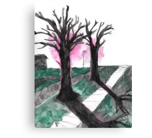 sidewalk Canvas Print