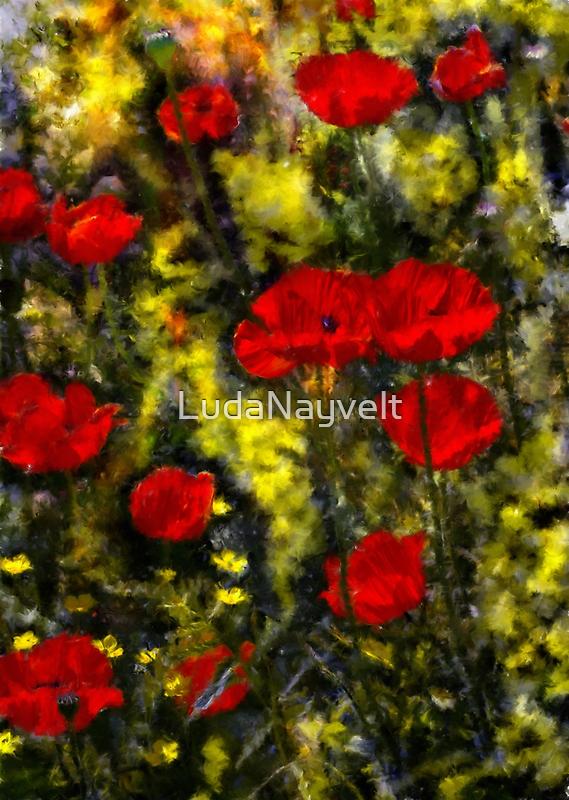 Poppy Family by LudaNayvelt