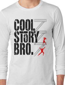 West Side Story, Bro. (Black) Long Sleeve T-Shirt
