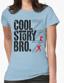 West Side Story, Bro. (Black) Womens Fitted T-Shirt