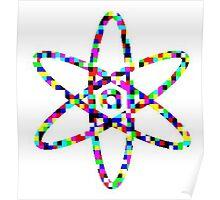 Atom Nucleus Poster