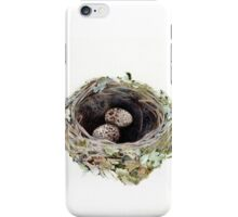 Pink robin's nest iPhone Case/Skin