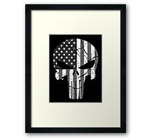American Punisher - Subdued Framed Print
