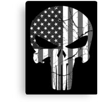 American Punisher - Subdued Canvas Print