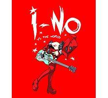 I-no vs the world Photographic Print
