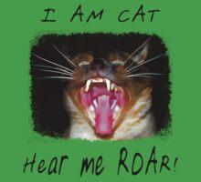 I AM CAT - Hear me Roar! One Piece - Short Sleeve