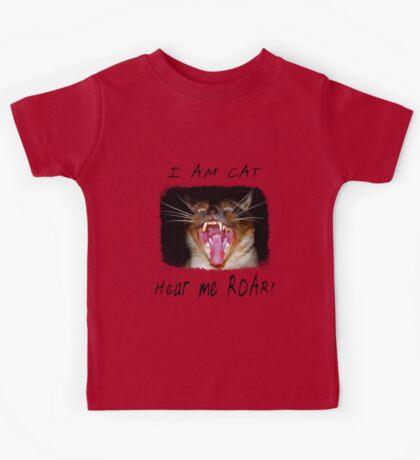 I AM CAT - Hear me Roar! Kids Tee