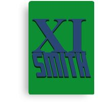 Doctor Who: XI -Smith Canvas Print