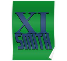 Doctor Who: XI -Smith Poster