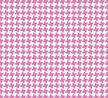 PINK HOUNDSTOOTH by Annie Neusteter