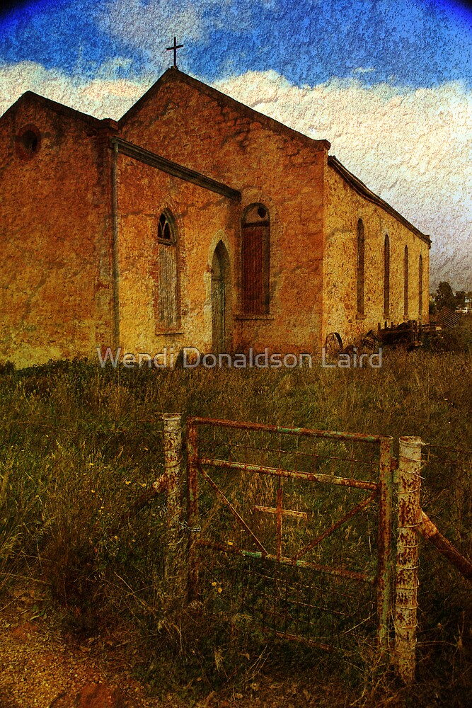 Abandoned Religion in Terowie by Wendi Donaldson Laird