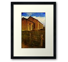 Abandoned Religion in Terowie Framed Print