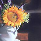 Sunflower in Winter by Leslie Gustafson
