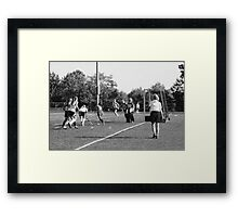 100511 058 0 pencil field hockey  Framed Print