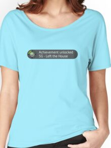 Xbox Achievement - Left the House Women's Relaxed Fit T-Shirt