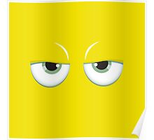 Yellow mirror Poster