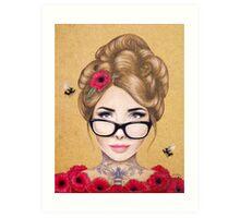 Blood Honey Art Print