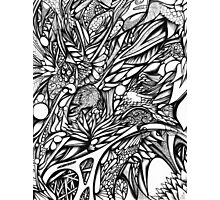 Doodle 5 Photographic Print