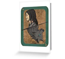Sirius Black Playing Card Greeting Card